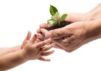 nous sommes là pour éveiller nos enfants à l'écologie et au respect de la planète