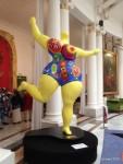 La danseuse jaune de Niki de Saint Phalle