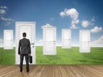 oser prendre la décision de franchir une nouvelle porte, une nouvelle étape de vie