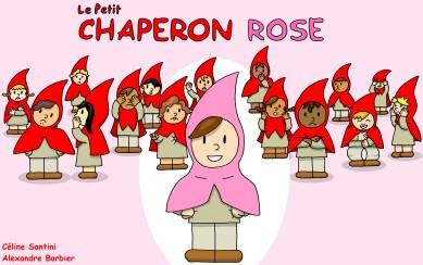 Le petit chaperon rose, conte pour enfants mais aussi pour les plus grands qui assument qui ils sont...